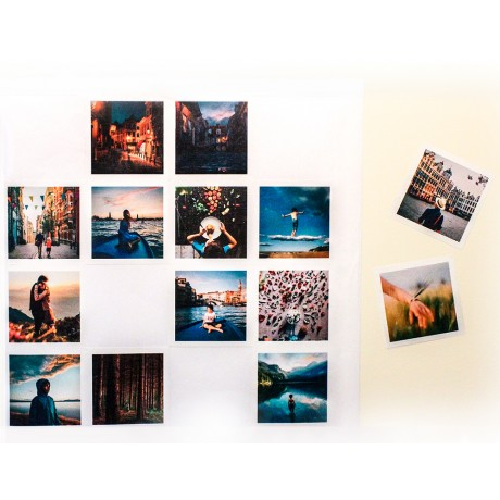 Peel & Place Photo Prints