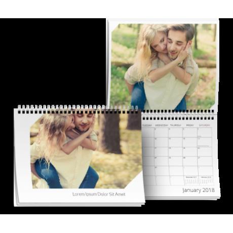 8.5x11 Calendar